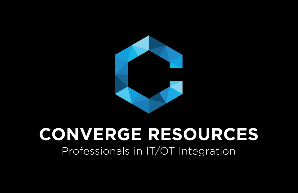 Converge Resources Logo Black
