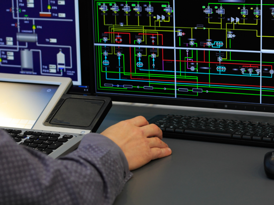 Picture of SCADA Networking